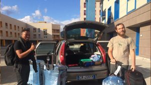 TUT Students Land In Solerno/Italy